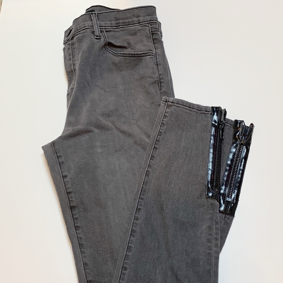 J Brand Denim - J Brand Maria High Waisted Skinny Zipper Jeans 28